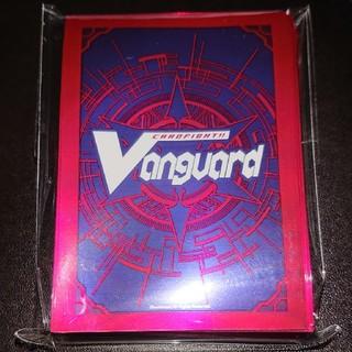 カードファイトヴァンガード(カードファイト!! ヴァンガード)のVG ヴァンガード 共通面 ロゴ ドラゴニック・オーバーロード スリーブ 赤 黒(カードサプライ/アクセサリ )