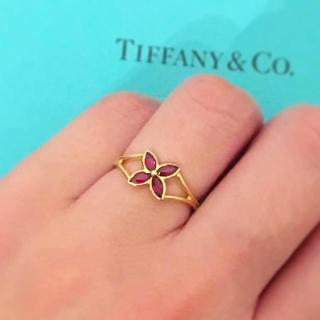 ティファニー(Tiffany & Co.)のレア☆ ティファニー ビクトリア ルビー リング(リング(指輪))