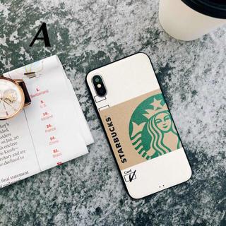 スターバックスコーヒー(Starbucks Coffee)のスマホ★iPhone7/8専用★スタバカバー★☆A☆★プレゼント付き☆(iPhoneケース)