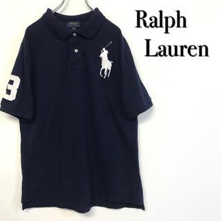 POLO RALPH LAUREN - 美品 Ralph Lauren ポロシャツ ビッグポニーロゴ