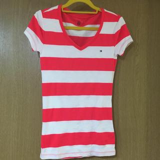 62814a482cb トミーヒルフィガー(TOMMY HILFIGER)のトミーフィルフィガー Tシャツ XS(Tシャツ