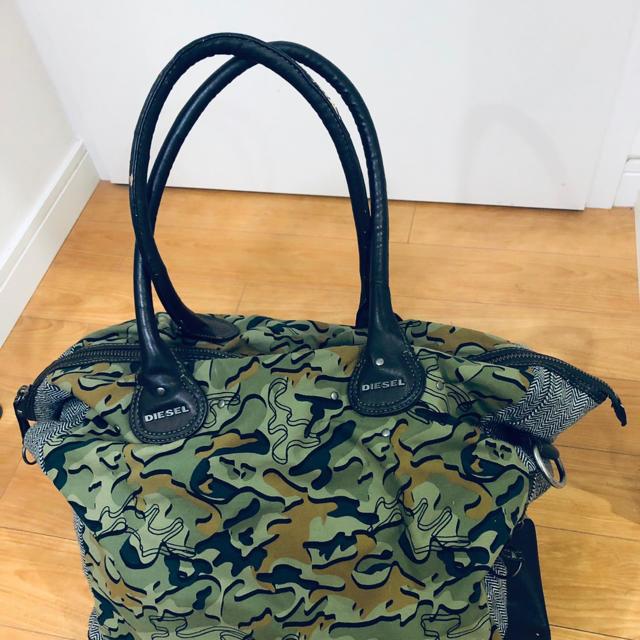 DIESEL(ディーゼル)のDIESEL ボストンバッグ ディーゼル バッグ メンズのバッグ(ボストンバッグ)の商品写真