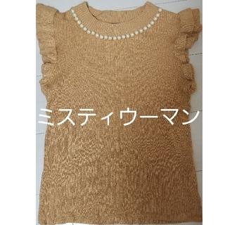 ミスティウーマン(mysty woman)のトップス 秋服(カットソー(半袖/袖なし))