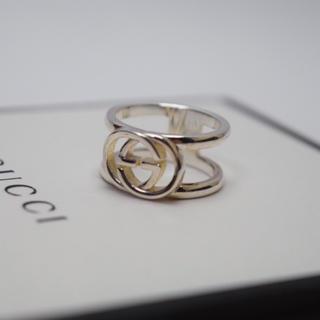 グッチ(Gucci)の送料無料/GUCCI/グッチ/リング・指輪/インターロッキング/9号/シルバー(リング(指輪))