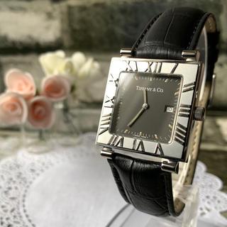 Tiffany & Co. - 【電池交換済み】TIFFANY&Co ティファニー アトラス 腕時計 スクエア