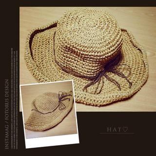 シマムラ(しまむら)の新品❁麦わら帽子(麦わら帽子/ストローハット)