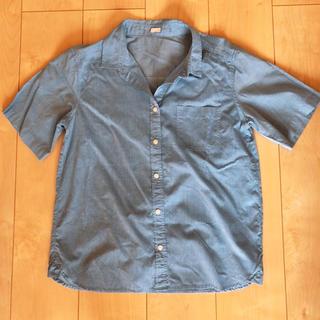 ジーユー(GU)のGU 半袖 シャツ(シャツ/ブラウス(半袖/袖なし))