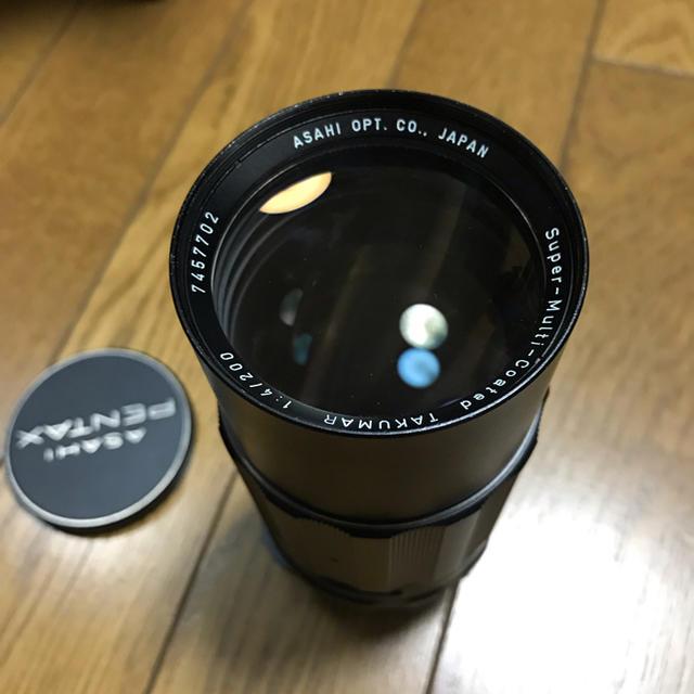 PENTAX(ペンタックス)のSuper-Multi-Coated Takumar 200mm f4 スマホ/家電/カメラのカメラ(レンズ(単焦点))の商品写真