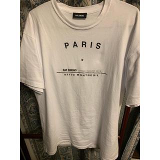 ラフシモンズ(RAF SIMONS)のラフシモンズ  paris Tシャツ(Tシャツ/カットソー(半袖/袖なし))