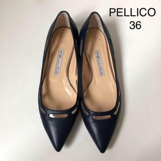 PELLICO - 美品 ★ ペリーコ トゥッティ アネッリ フラットパンプス ★