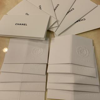 シャネル(CHANEL)のシャネル レシートホルダー カード CHANEL 美品 セット カメリア 領収書(その他)