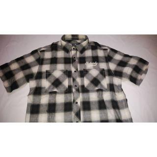 サブサエティ(Subciety)のサブサエティ・半袖チェックシャツ・定価¥13000・2017夏・未使用品(シャツ)