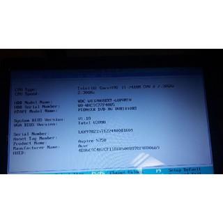 エイサー(Acer)のAcer aspire 5750 ジャンク(ノートPC)