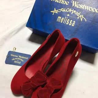 Vivienne Westwood - vivienne westwood/パンプス/24.5/スウェード/RED/