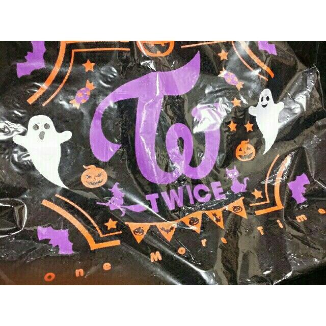 Waste(twice)(ウェストトゥワイス)の新品💗TWICE トートバッグ One More Time モサナジョンヨン エンタメ/ホビーのCD(K-POP/アジア)の商品写真