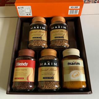 アジノモト(味の素)のAGFコーヒー5本、マリーム1本(コーヒー)