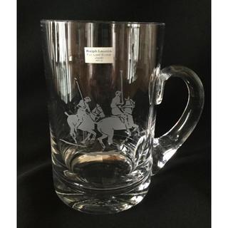 ラルフローレン(Ralph Lauren)のラルフローレン クリスタル ビールジョッキ ビアマグ(グラス/カップ)