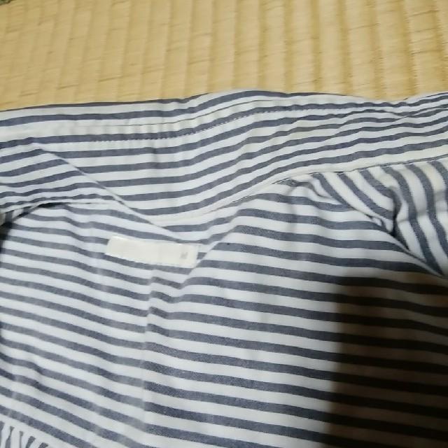 GU(ジーユー)のGU ストライプシャツ メンズのトップス(シャツ)の商品写真