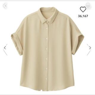 ジーユー(GU)のジーユー☆エアリーシャツ(シャツ/ブラウス(半袖/袖なし))