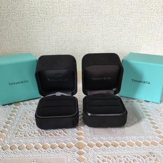 ティファニー(Tiffany & Co.)のティファニー TIFFANYペア リングケース 箱 (その他)