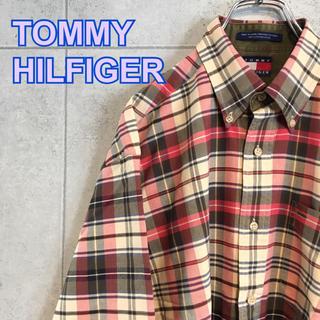 0dedf9cdcad トミーヒルフィガー(TOMMY HILFIGER)のTOMMY HILFIGER トミーヒルフィガー チェックシャツ 美品古着