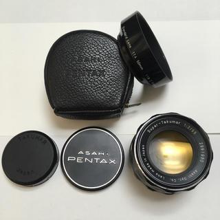 PENTAX - 極美品 PENTAX Super-Takumar 55mm F2 純正付属