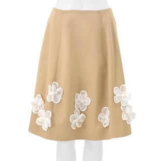 チェスティ(Chesty)の新品 チェスティ フラワーコサージュ スカート 1(ひざ丈スカート)