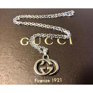 Gucci - 超美品 正規品 グッチ GUCCI チャーム ネックレス シルバー ユニセックス