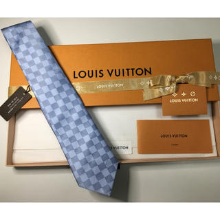 LOUIS VUITTON - ☆新品未使用☆ ルイヴィトン ダミエ ネクタイ