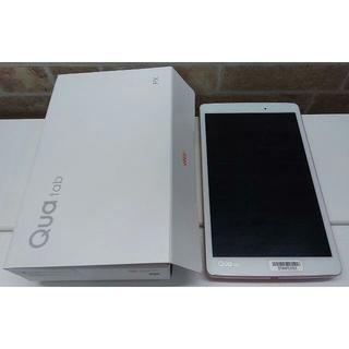 エルジーエレクトロニクス(LG Electronics)の縦山様専用 防水・防塵 高性能タブレット Qua tab PX ピンク(タブレット)