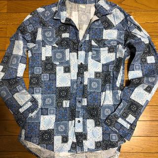 GU - 柄シャツ