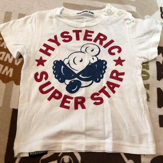 HYSTERIC MINI(ヒステリックミニ)のローリングT 80 キッズ/ベビー/マタニティのベビー服(~85cm)(シャツ/カットソー)の商品写真