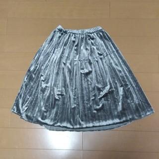 ブリーズ(BREEZE)のBREEZE ベロアプリーツスカート130(スカート)