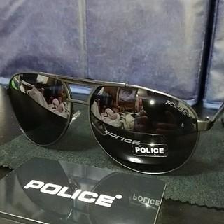 POLICE 本体のみ ディアドロップサングラス