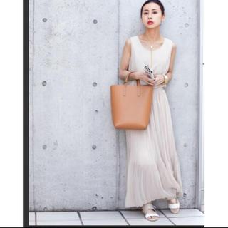 アメリヴィンテージ(Ameri VINTAGE)のameri shirring chiffon dress(ロングワンピース/マキシワンピース)