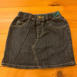 ⭐︎値下げ⭐︎デニムスカート サイズ110(スカート)