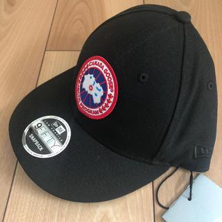 カナダグース(CANADA GOOSE)のカナダグース  キャップ帽子  レア 数量限定 メンズ フリーサイズ  送料込(キャップ)