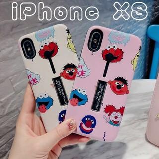 セサミストリート(SESAME STREET)のiPhoneケース セサミストリート XS(ピンク)(iPhoneケース)