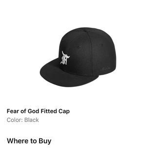 フィアオブゴッド(FEAR OF GOD)のfog essentials new Era(キャップ)