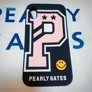 パーリーゲイツ(PEARLY GATES)のPEARLY GATES♡PロゴiPhoneケース X XS(iPhoneケース)