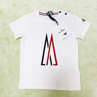 モンクレール(MONCLER)の今期 2019ss 新品 モンクレール ベビー ロゴ Tシャツ 36m 3A(Tシャツ/カットソー)