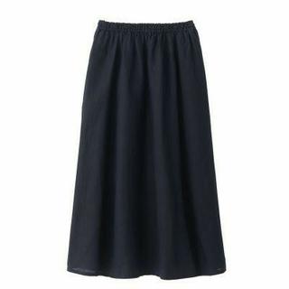 ムジルシリョウヒン(MUJI (無印良品))の無印良品  オーガニックリネンイージーマキシスカート(ロングスカート)