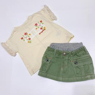 ブリーズ(BREEZE)のブリーズ.Tシャツスカートset90(スカート)