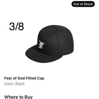 フィアオブゴッド(FEAR OF GOD)のfog essentials new era 7 3/8 (キャップ)