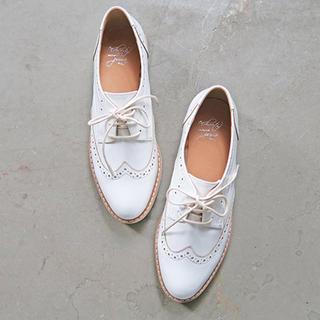 enchanted prima ♡ ウイングチップレースアップシュース(ローファー/革靴)