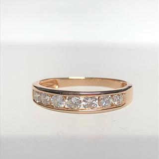 大特価ピンクゴールドダイヤリング(リング(指輪))