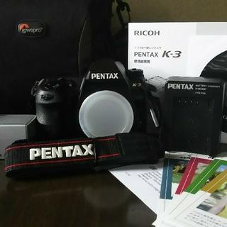 PENTAX - ペンタックスK3    7月20日迄で掲載終了