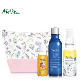 メルヴィータ(Melvita)の免税店限定♡ネクターブランオイル、化粧水、クレンジングSET(ブースター/導入液)