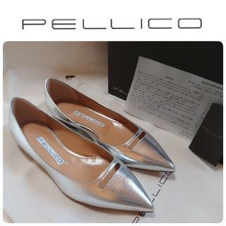 PELLICO - 19SS完売 新品 ペリーコ アネッリ シルバー パンプス 定価52920円