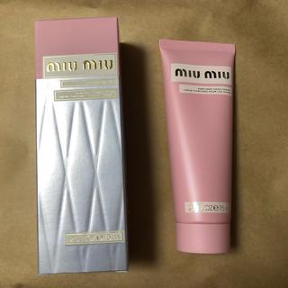 ミュウミュウ(miumiu)の【値下げ】miu miu♡ハンドクリーム(ハンドクリーム)